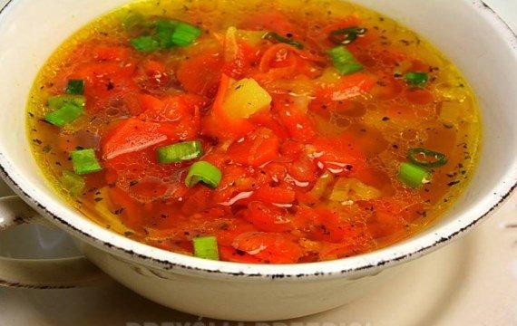 Вкусный, весенний, морковный суп - рецепт с фото